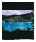St. John's V.i. Fleece Blanket