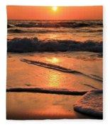 St. Joseph Sunset Swirls Fleece Blanket