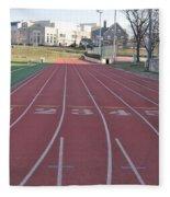 St Josephs University Track Fleece Blanket