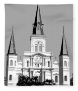 St Louis Cathedral Poster 1 Fleece Blanket