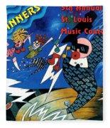 St Louis Music Contest Winners Fleece Blanket