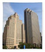 St. Louis Skyscrapers Fleece Blanket