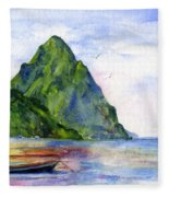 St. Lucia Fleece Blanket