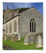 St Margaret's Church - Wetton Fleece Blanket