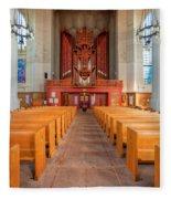 St. Marks Cathedral 4 Fleece Blanket