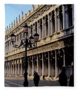 St. Mark's Square Venice Italy Fleece Blanket