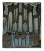St Martins In The Field Organ Fleece Blanket