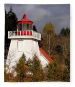 St. Martins Lighthouse Fleece Blanket
