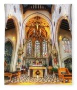 St Mary's Catholic Church - The Altar Fleece Blanket