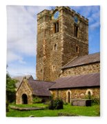 St Mary's Church Conway Fleece Blanket