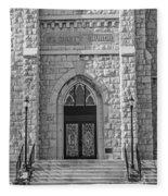 St. Mary's Church - Port Washington 4  Fleece Blanket