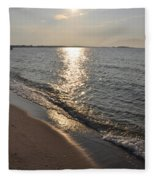 St Marys County Sunrise Fleece Blanket
