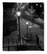 St. Mary's Stairs  Fleece Blanket