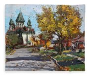 St. Marys Ukrainian Catholic Church Fleece Blanket