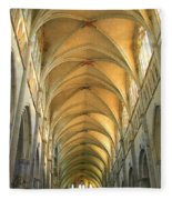St. Maurice Cathedral In Vienne Fleece Blanket