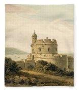 St Mawes Castle Fleece Blanket