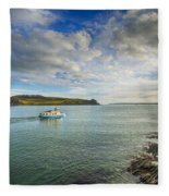 St Mawes Ferry Duchess Of Cornwall Fleece Blanket