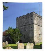 St Michael's Church - Shalfleet Fleece Blanket