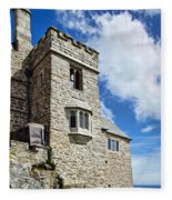 St Michael's Mount 2 Fleece Blanket
