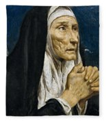 St Monica Fleece Blanket