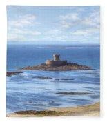 St Ouen's Bay Fleece Blanket