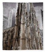 St. Patricks Cathedral  Fleece Blanket