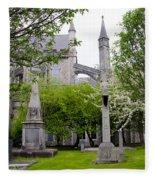 St Patricks Cathedral - Dublin Ireland Fleece Blanket