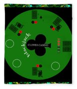 St. Patrick's Day Tournament - Featured In 'cards For All Occasions' Fleece Blanket