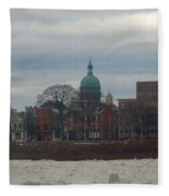 St Patricks In Harrisburg Fleece Blanket