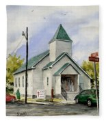 St. Paul Congregational Church Fleece Blanket