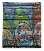 St Pauli Girl Fleece Blanket