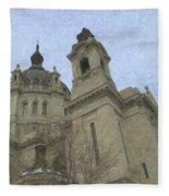 St. Paul's Cathedral Fleece Blanket