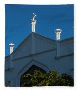 St Paul's In Key West Fleece Blanket