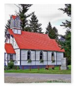 St Peters Anglican Church Fleece Blanket