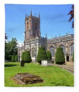 St Peter's Church - Tiverton Fleece Blanket