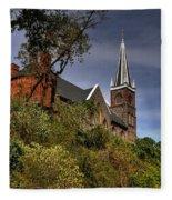 St. Peter's Of Harpers Ferry Fleece Blanket