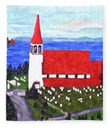 St. Philip's Church Fleece Blanket