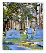 St. Philips Church Cemetery Charleston Sc Fleece Blanket