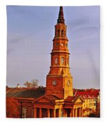 St Phillips Fleece Blanket