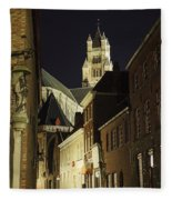 St Saviour Cathedral  Fleece Blanket