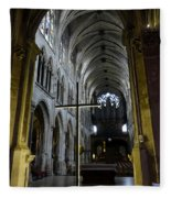 St. Severin Church In Paris France Fleece Blanket