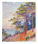 St Tropez The Custom's Path Fleece Blanket
