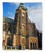 St. Vitus Cathedral Fleece Blanket