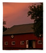 Stable Barn Fleece Blanket