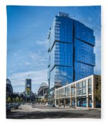 Stadium Place Apartments Fleece Blanket