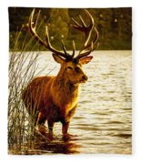 Stag Fleece Blanket
