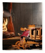 Stagecoach Dream Fleece Blanket