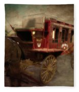 Stagecoach West Sepia Textured Fleece Blanket