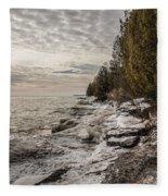 Staggering Shores Fleece Blanket
