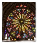 Stained Glass Details Fleece Blanket